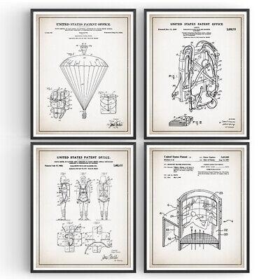 Rocket Patent Prints Set of 2 V2 Rocket Blueprint Engineer Gift JPL Decor