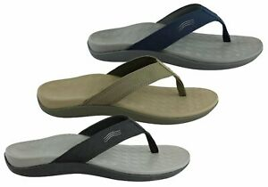 Brand-New-Scholl-Orthaheel-Wave-Ii-Mens-Comfort-Orthotic-Thongs-With-Support