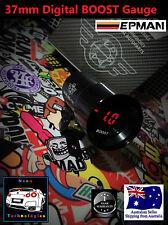 37mm Digital BOOST Gauge *RED LED* Turbo 4WD Petrol Diesel Hilux Patrol BT50 GU