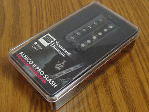 NEW Seymour Duncan APH-2n SLASH Alnico Pro II 2 Humbucker PICKUP Neck Black