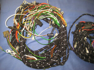 mg mgb roadster or gt braided wiring loom 1964 to 67 ghn3 or ghd3 rh ebay co uk mgb wiring loom uk mgb gt wiring loom