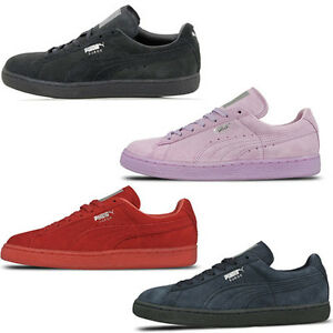 buy popular 2c11d 82a41 Details about Puma Suede Classic Mono Ref Iced Low Unisex Trainers Shoes  362101