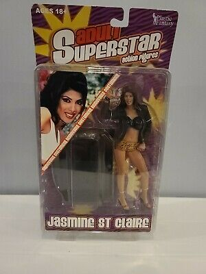Plastic Fantasy Adult Superstars Jasmine St Claire Series 4 Action Figure 832483001188 Ebay