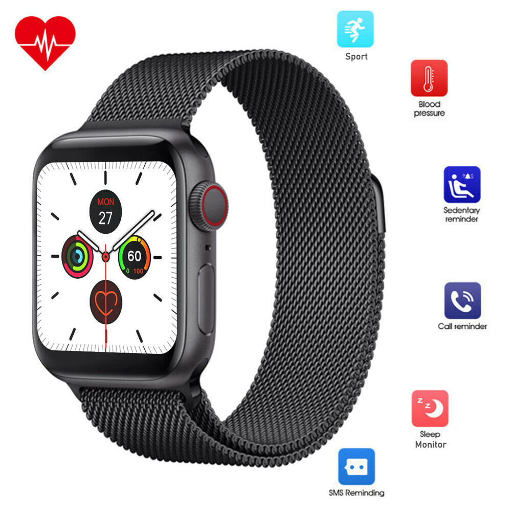 Smart Watch Fitness Tracker Wristband for iPhone Samsung S10e 10 Plus 9 8 Note Featured fitness for iphone plus s10e samsung smart tracker watch wristband