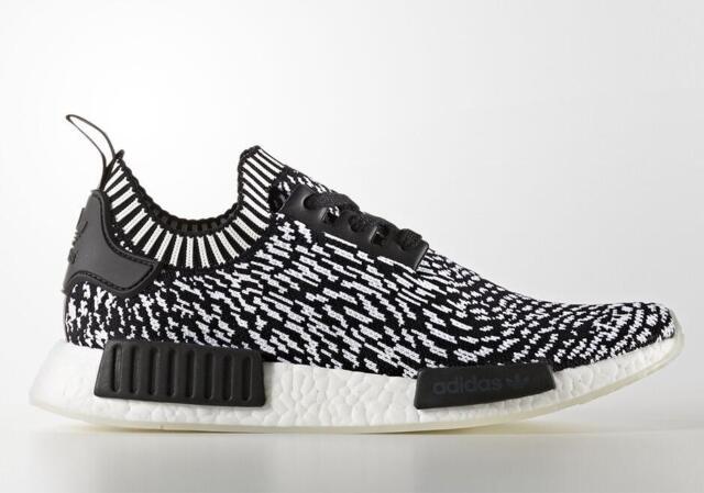 hot sale online 4985f d90e0 Adidas NMD R1 PK Zebra Black White BY3013 New