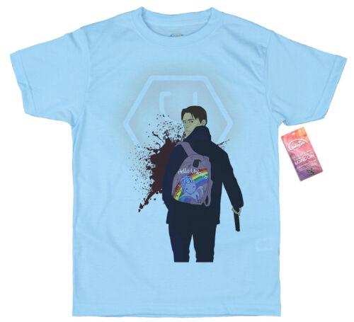 Hello Unicorn Takeshi Kovacs T shirt Design Altered Carbon