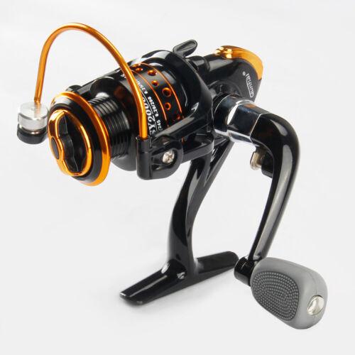 FISHINGDAY Spinning Fishing Reel W// Great Ball Bearings For Freshwater Saltwater