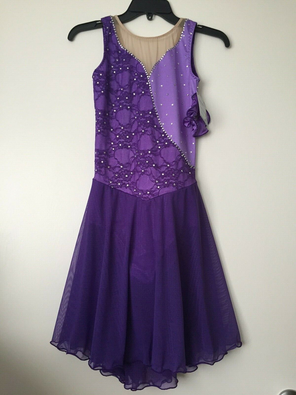Icings NWT PURPLE ICE ROLLER DANCE SKATING  DRESS