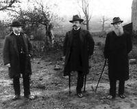 8x10 Civil War Photo: Veteran Union General Dan Sickles Revisits Gettysburg