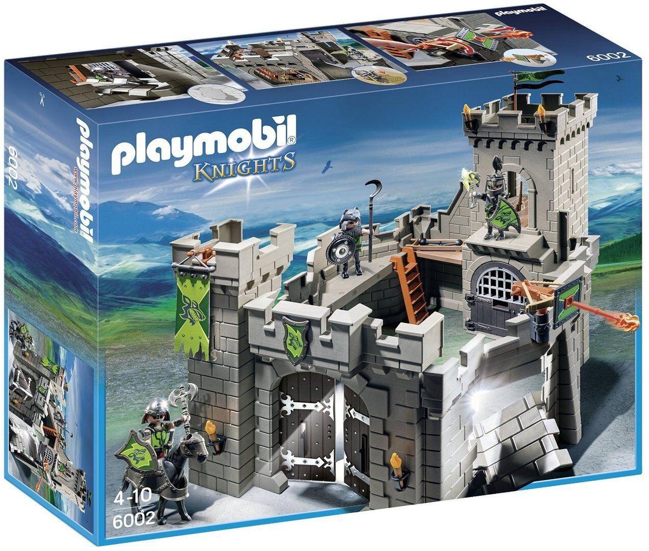 Playmobil 6002 - Fortaleza de los Caballeros Lobo - NUEVO
