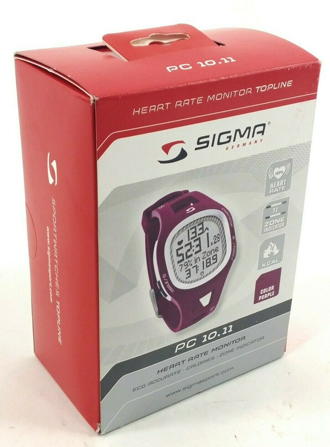 Sigma Sport PC 10.11 Heart Rate  Monitor Purple  low 40% price