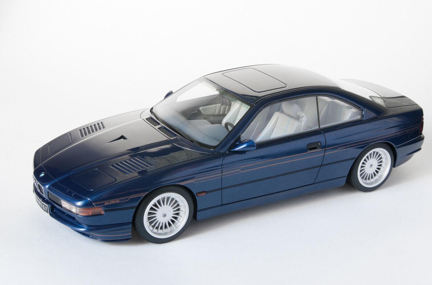 BMW 850 alpina b12 Turbo e31 Blue 1:18 otto