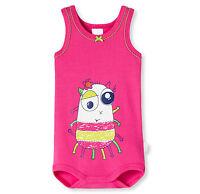 SCHIESSER Baby Body ohne Arm 100% Baumwolle Gr. 68 74 80 86 92 98 104 Bodies NEU