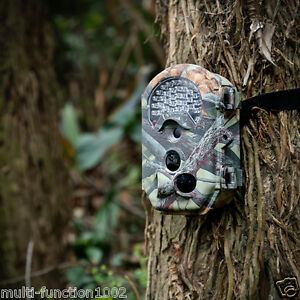 16MP HD Game Trail Camera Hunting Wildlife Video Deer Cam Scouting ...