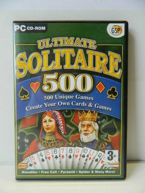 Ultimate Solitaire 500 PC Spiel 2003