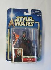 Star Wars Attack Of The Clones Shaak Ti Jedi Master Action Figure #10 MOC!