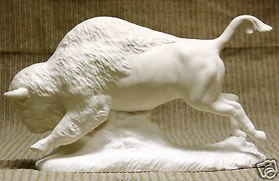 Ceramic Bisque Buffalo 11 Inch Doc Holliday Mold 1173 U Paint Ready To Paint
