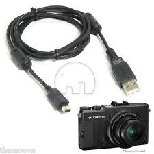 For Olympus Camera Charger Data USB Cable Digital CB-USB5 CB-USB6 CB-USB8 12Pin