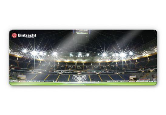 Glasbild Eintracht Frankfurt Nacht - Panorama 100% Fußball Bundesliga Arena Deko