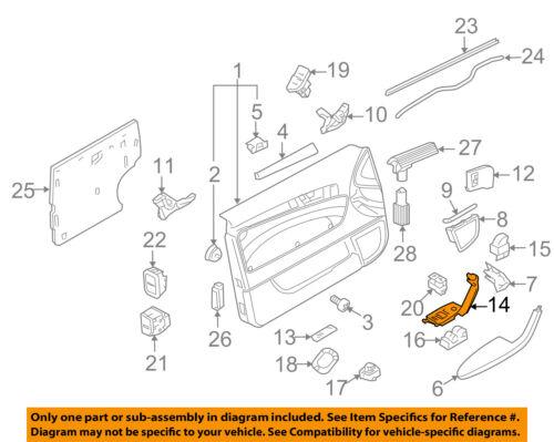 AUDI OEM 06-13 A3 Front Door-Switch Panel Left 8P4959521D7PE