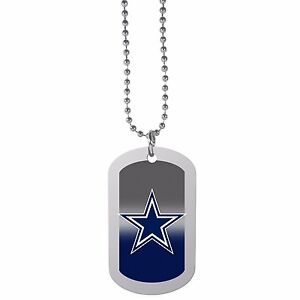 Image is loading Dallas-Cowboys-Team-Tag-Necklace-NFL-Football-Licensed- b6995b411