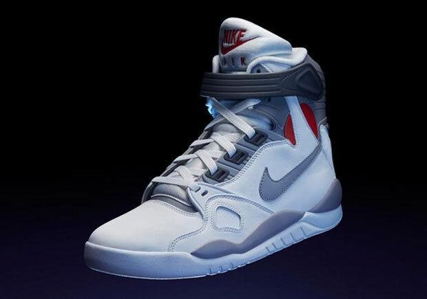 2016 Nike Air Pressure OG Retro Mcfly Air Mag Size 11. 831279-100 Jordan Kobe