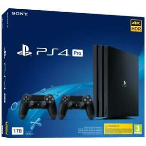 SONY Console PS4 Pro 1TB Gamma + 2 Controller DS4