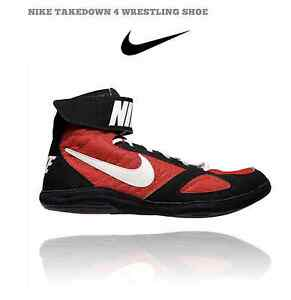Nike 366640 016 Takedown 4 Men's and Women's Wrestling Shoes men's size 8
