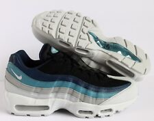 low priced 973c7 2bf4c Nike Air Max 95 Essential 749766-026 Pure Platinum Navy Noise Aqua ...
