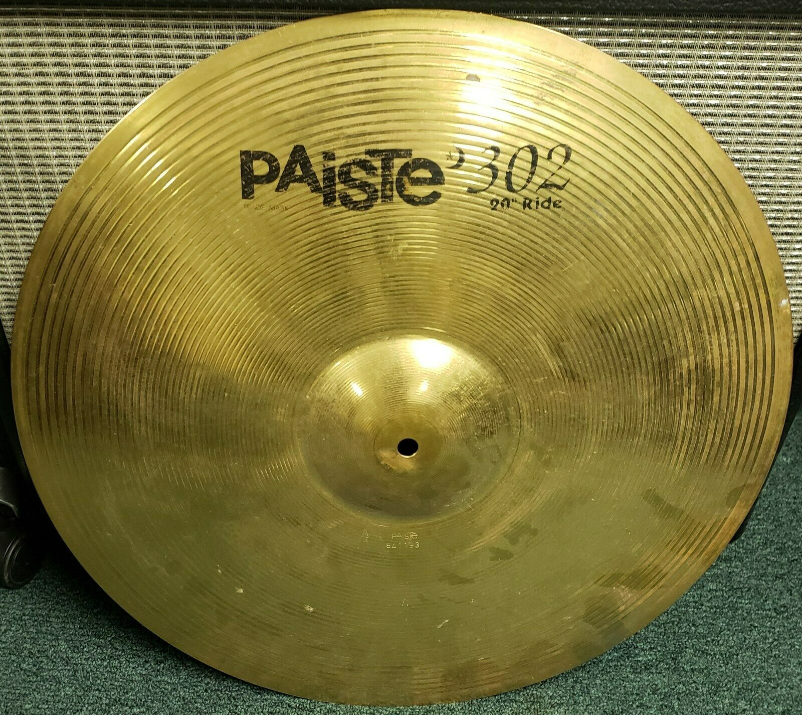 Paiste 302 Ride Cymbal Made in Germany