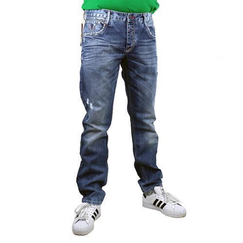 Farbe blau Cipo /& Baxx C-1068 Herren Jeans Used Style Hose 13837