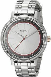 New-Nixon-A099SW2445-Kensington-Phasma-Silver-Stainless-Steel-Ladies-Watch-NIB