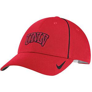 Details about UNLV VEGAS RUNNIN  REBELS RED NCAA NIKE DRI-FIT COACHES  ADJUSTABLE CAP HAT NWT! 2fd2a10e963