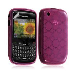 Housse-coque-etui-en-gel-pour-BlackBerry-Curve-8520-motif-cercle-couleur-rose-fu