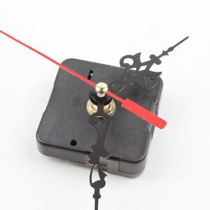 Schwarz-Wanduhr-Uhrwerk-Quarzwerk-Laufwerk-Reparatur-DIY-Werkzeug-amp-3-Zeige-J3D0