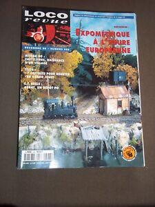 Efficace Loco Revue, No 598 (1996) Modelisme / Train / Chemin De Fer / Maquette / Reseau Les Couleurs Sont Frappantes
