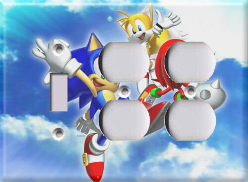 Light Switch Covers Home Decor Outlet Sonic the Hedgehog 2
