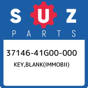 37146-41G00-000-Suzuki-Key-blank-immobii-3714641G00000-New-Genuine-OEM-Part
