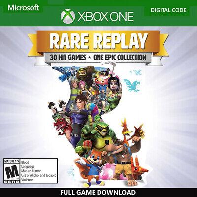 Rare Replay Xbox One Digital Key Code Region Free (No CD/DVD) 30 Hit Games  | eBay