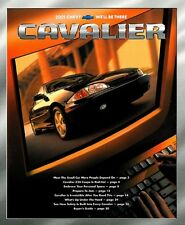 2001 Chevrolet Cavalier 32-page Original Car Sales Brochure Catalog - Chevy Z24