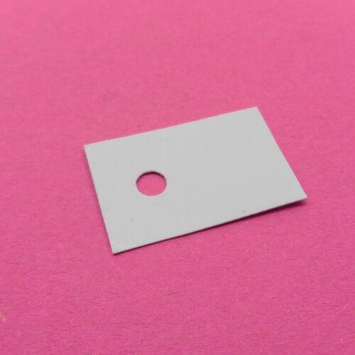 TRANSISTOR silicio Pad Dissipatore di calore TO-220 NYLON ad anello ad alta temperatura