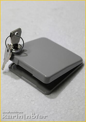 Lpg combustible plegable tapa para hk plana combustible gris sin combustible