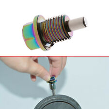 M14x15 Colorful Aluminum Magnetic Oil Drain Plug Bolt Sump Nut Car Parts Fits Isuzu