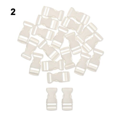 15mm Dog Collar Strap Webbing Outdoor Tool Camp Bag Parts Side Release Buckle