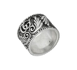 02d20a6033b RING GUCCI G MARMONT 15 mm Ring YBC551895001 STERLING SILVER NEW ...