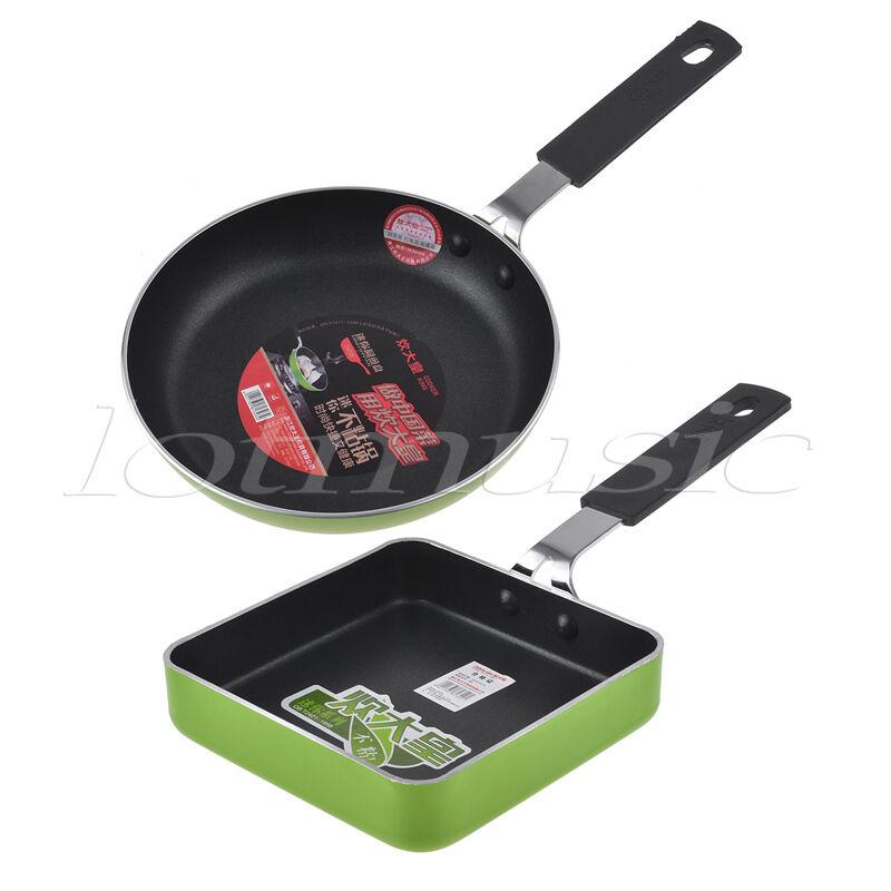 2pc Mini Non Stick Frying Sauce Pan Cookware 4 7 Inch