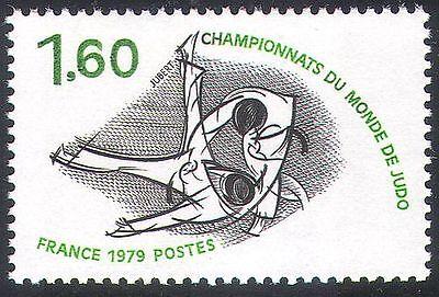 France 1979 Judo/Sports/Martial Arts/World Championships 1v (n29389)