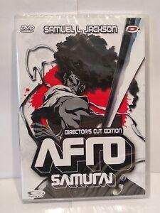 DVD-Manga-Afro-Samurai-director-039-s-cut-Pal-zone-2-VOSTFR-Neuf