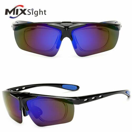 Men/'s Sports Flip Up Lens Sunglasses Road Cycling Glasses Mountain Bike Eye Wear