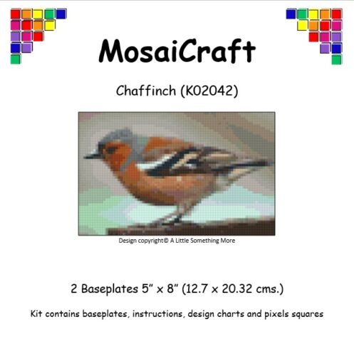 MosaiCraft Pixel Craft Mosaic Art Kit /'Chaffinch/' Pixelhobby
